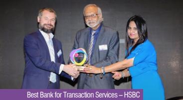 Best Bank for Transaction Services – HSBC